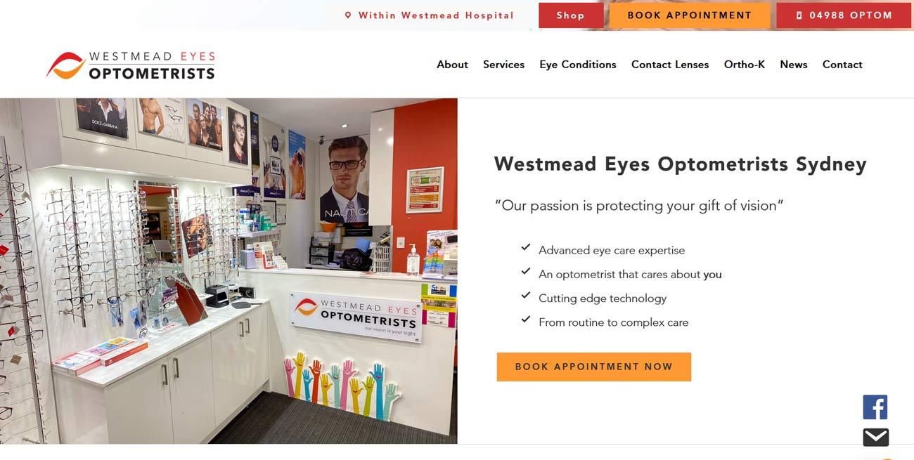 Westmead Eyes Website