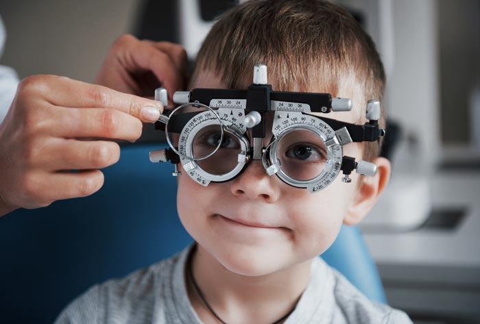 kids eye tests near Paramatta